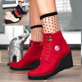 b80dbb3b096 Botines Rojos Elegantes Mujer - Zapatos en Mercado Libre Colombia
