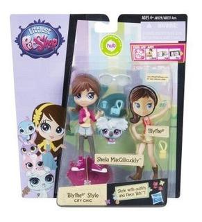 Littlest Pet Shop Blythe Style Chic Set.