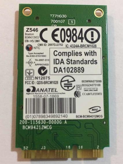 Placa Wifi Broadcom Bcm94312mcg