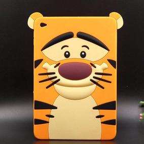 Capa Case Capinha iPad 2 3 4 Proteção Infantil Tigrao Luxo
