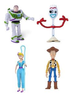 Muñeco Toy Story Figura Articulada Disney Woody Buzz Juguete
