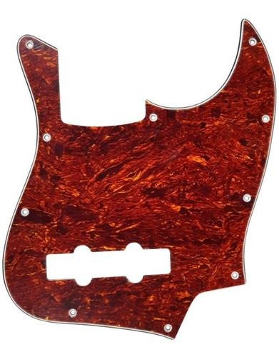 Imagen 1 de 1 de Pickguard Sambong M14 Carey Tipo Jazz Bass 3 Capas