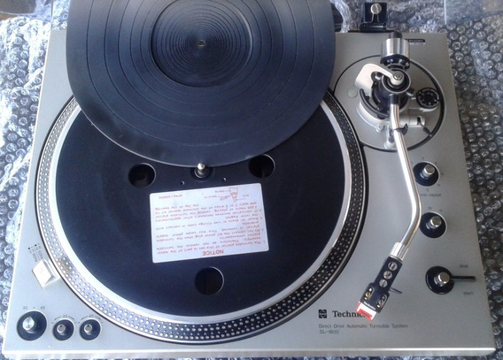 Toca Discos Technics Sl -1600 - Original (impecável)