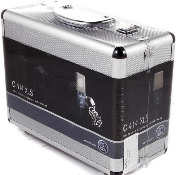 Microfone Akg C414 Xls Original + Brindes