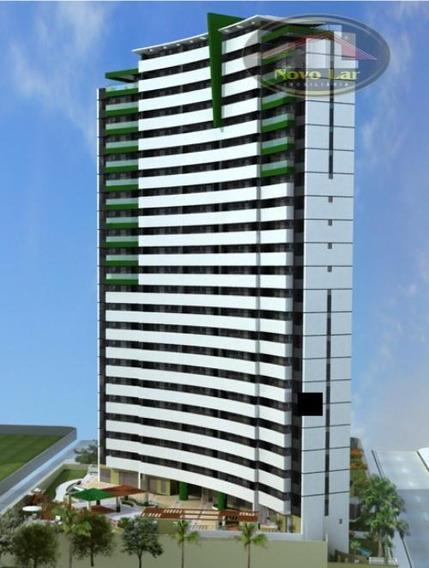 Apartamento Com 2 Dormitórios Para Alugar, 60 M² Por R$ 1.600,00/mês - Meireles - Fortaleza/ce - Ap0231