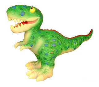Dinosaurio De Goma Super Grande! 60 Cm Tiovivo