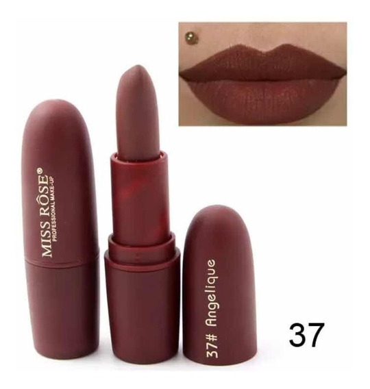 Labial Matte Miss Rose