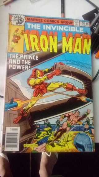 The Invencible Iron Man #121 Abril De 1979 Importada Rara