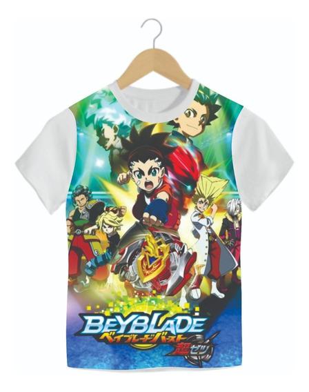 Camiseta Infantil Beyblade Mod09