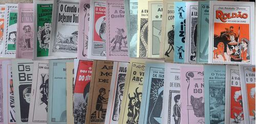 100 Folhetos Variados De Literatura De Cordel