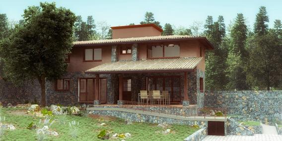 Hermosa Casa En La Parte Alta De Tepoztlán