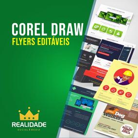 Flyers Editáveis Corel Draw Cdr
