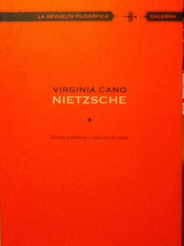 Nietzsche - Virginia Cano - Galerna