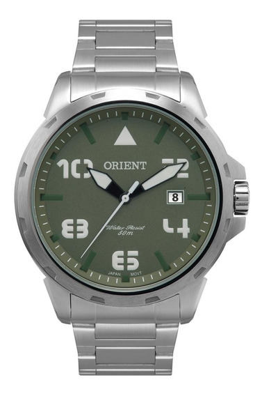 Relógio Orient Masculino Ref: Mbss1195a E2sx Militar