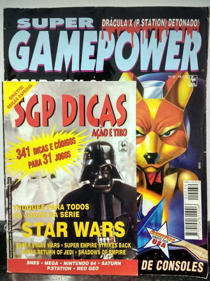 Revista Supergamepower 39 C/ Encarte Sgp Dicas - Abril Rjhm