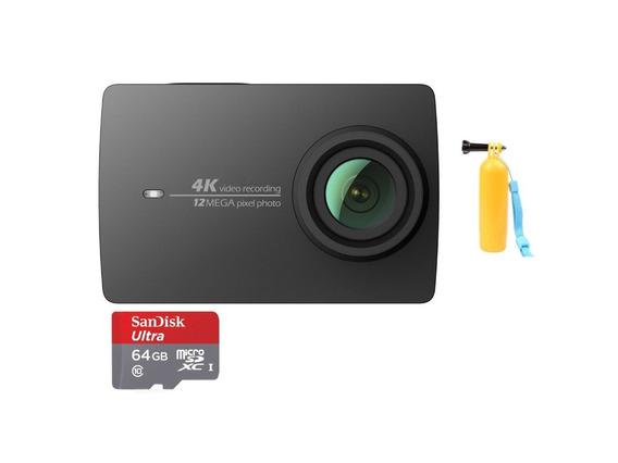 100% Original Action Camera Xiaomi Yi 2 4k 12mp Filmadora