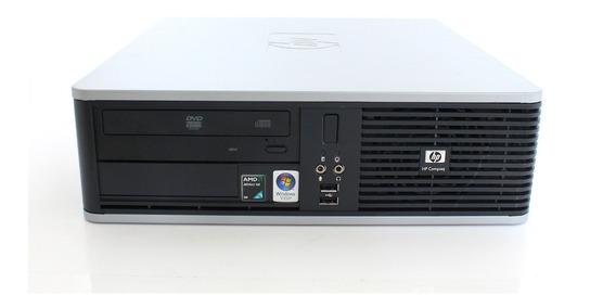 Kit 2 Cpu Hp Compaq Dc5850 Amd 4gb Hd 160gb + 1 Monitor