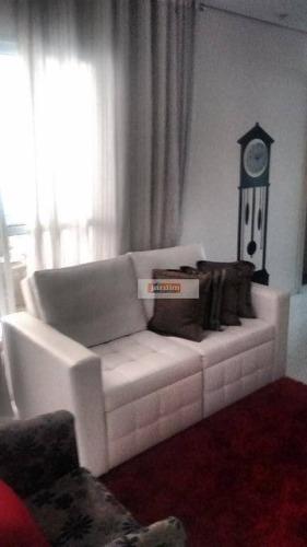 Apartamento Residencial À Venda, Vila Euclides, São Bernardo Do Campo. - Ap3915