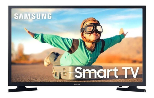 Smart Tv Samsung Led 32 Wi-fi 1 Usb 2 Hdmi Preto Bivolt