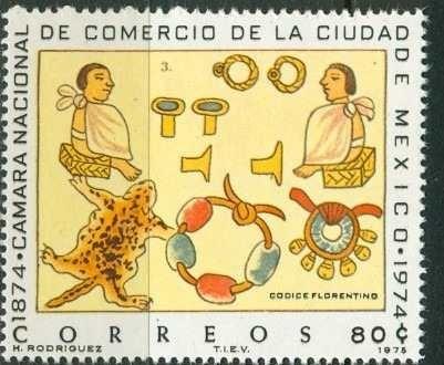 1975 Códice Prehispánico Cámara Nacional D Comercio Sc 1085