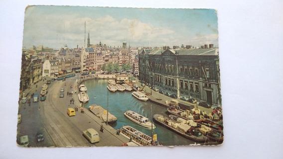 Postal Holanda Amsterdam Con Estampillas @12