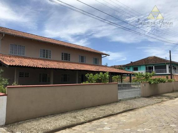 Ótima Casa A 300 Metros Da Praia Com Opção De Fazer Pousada, Investimento! - Ca0041