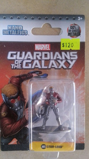 Nano Figura De Metal Star Lord Guardianes De La Galaxia