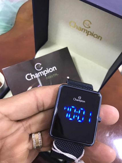 Relógio Champion Digital Quadrado Lançamento Envio Imediato