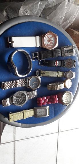 Lote De Relógios De Mostruário Femininos Joias Lote 10 Pcs