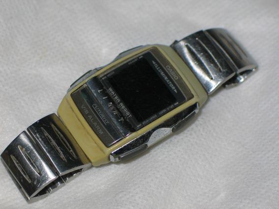Relógio Casio A-220 Display Com Falhas Leia Tudo -citizen-
