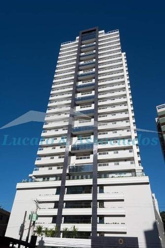 Apartamento Alto Padrão Para Venda No Canto Do Forte Em Praia Grande Sp 03 Dormitórios, Sendo 01 Suíte E 02 Demi-suítes, Cozinha, Lavabo, Sala De Esta - Ap02215 - 68865981