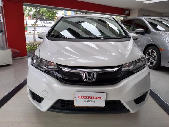 Honda Fit Lx At Blanco Orquídea 2015