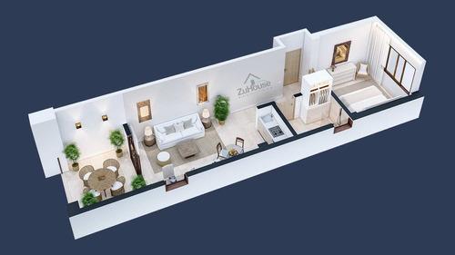 Imagen 1 de 14 de Apartamento En Plano En Venta, La Bahía De Samaná Wpa129 A