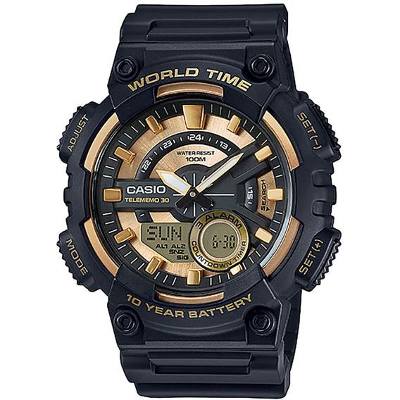 Relógio Casio Telememo Masculino Aeq-110bw-9avdf