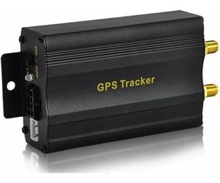Gps Tracker Tk103 Alarma Vehicular Gratis Plataforma 10 Años Sin Pagos Sim Incluido Microfono Corta Corriente