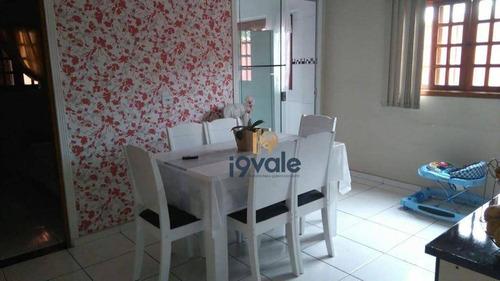 Casa Com 4 Dormitórios À Venda, 162 M² Por R$ 480.000,00 - Jardim América - São José Dos Campos/sp - Ca1574