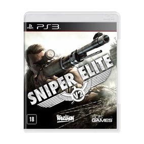 Jogo Novo Original Sniper Elite V2 Para Playstation 3 Ps3