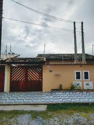 Casa Em Itanhaém Com 2 Quartos, Lado Praia À 1100 M Do Mar!