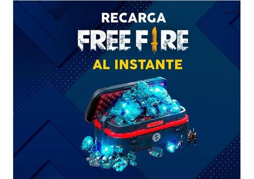 Recarga Diamantes Free Fire Por Id - Garena Ecuador