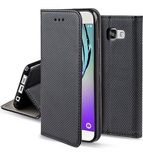 Celular Libre Samsung Galaxy J5 + Funda Gris Tapa Imantada