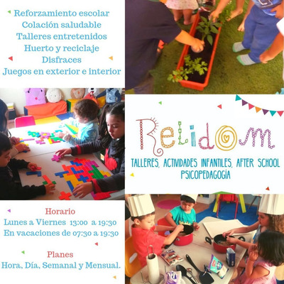 After School- Guardería- Talleres Infantiles Relidom