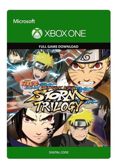 Naruto Shippuden Ultimate Ninja Storm Trilogy 25 Dígitos