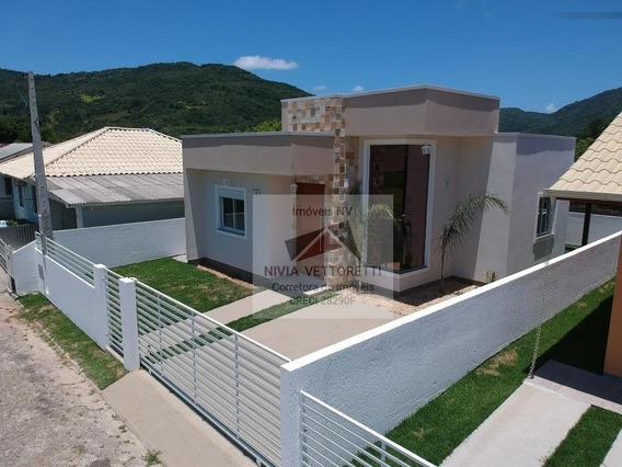 Casa A Venda No Bairro Vargem Grande Em Florianópolis - Sc. - 3612-1