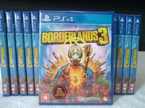 Borderlands 3 Ps4 Física Novo Lacrado Pronta Entrega