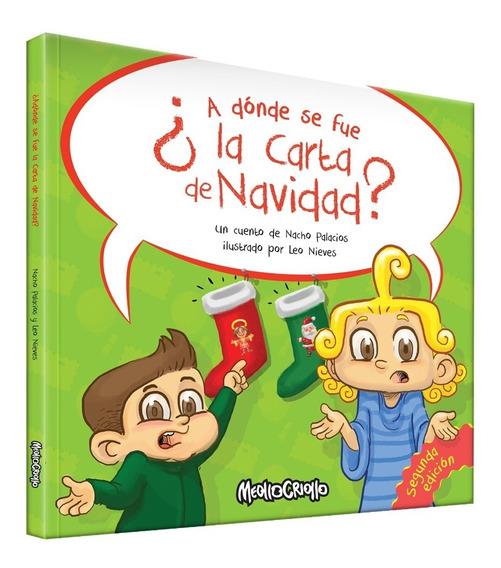 Libro Infantil ¿ A Donde Se Fue La Carta De Navidad?
