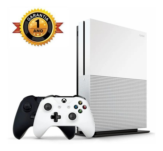 Xbox One S 1tb + 2 Controles + Game Pass + Live Gold