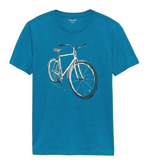 Camiseta Playera Banana Republic Bicicleta Bike Ciclista