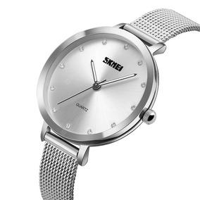 Relógio Feminino Skmei Importado De Luxo Quartzo 100% Origin