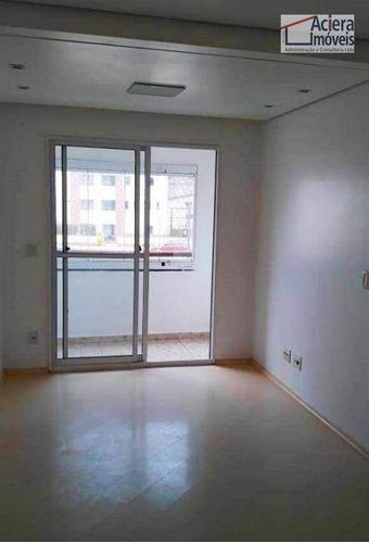 Imagem 1 de 30 de Apartamento Com 2 Dormitórios Para Alugar, 50 M² Por R$ 1.350,00/mês - Jardim Europa - Cotia/sp - Ap0471