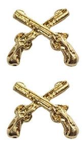 Distintivo Metal Bucaneiro (par) Dourado
